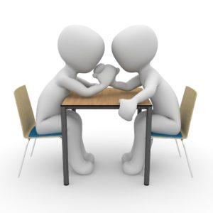 Recht haben sorgt für ständige Diskussionen und Streiterei und ist ein Zeichen für Beziehungskampf. Sagen die Paartrainer Dee und Matthias Stolla